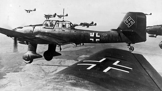 Germany launches an air attack on Great Britain. The start of the battle of Britain