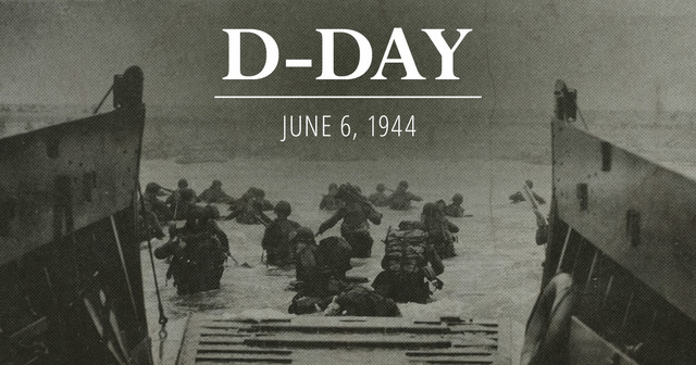 D-day and the Normandy invasion. Allied forces invade France and push back the Germans.
