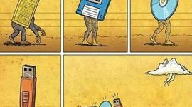 Evolución de la Tecnología timeline