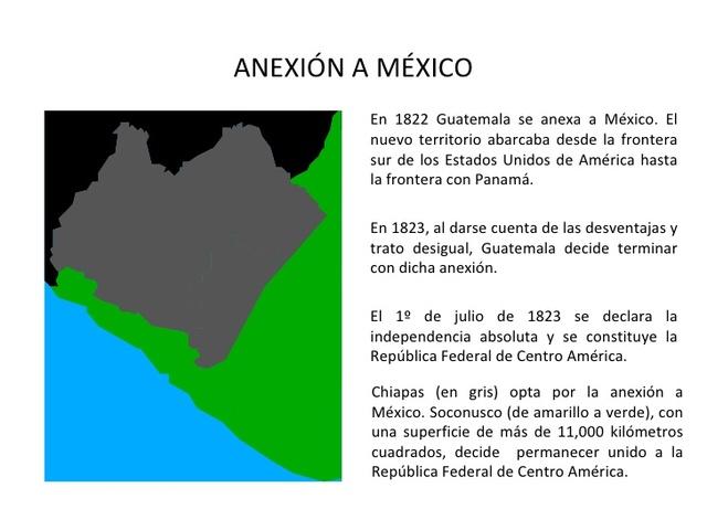 Anexión a México