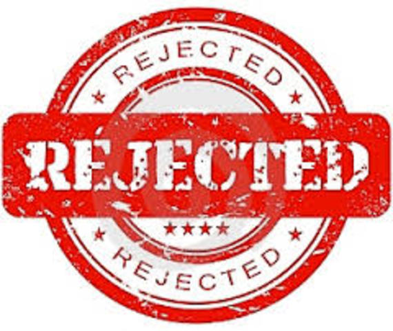 Rejected Again