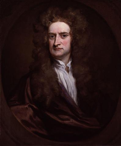 Isaac Newton (1642 a 1727, Británico)