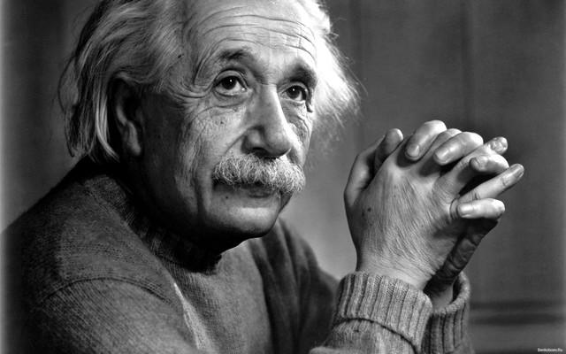 Albert Einstein (1879 a 1955, Alemán)