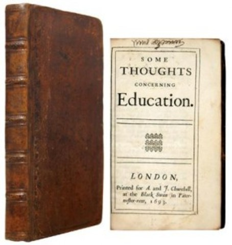 Some Thoughts Concerning Education Published
