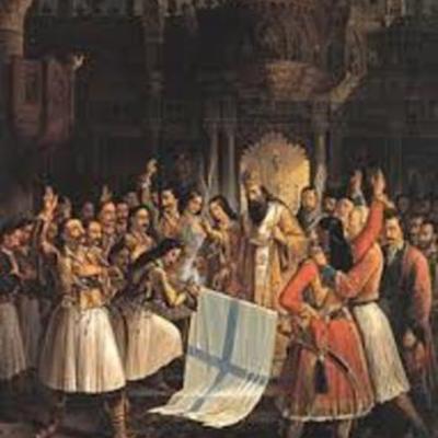 Μερικά σημαντικά γεγονότα της σύχρονης ελληνικής ιστορίας (1814-1832) timeline