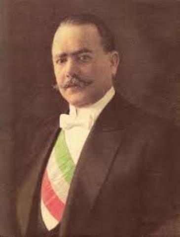 Alvaro Obregón es elegido Presidente de Mexico