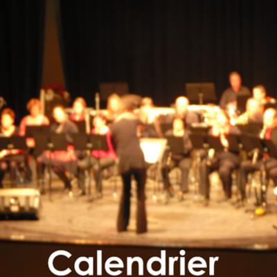 Calendrier des concerts timeline