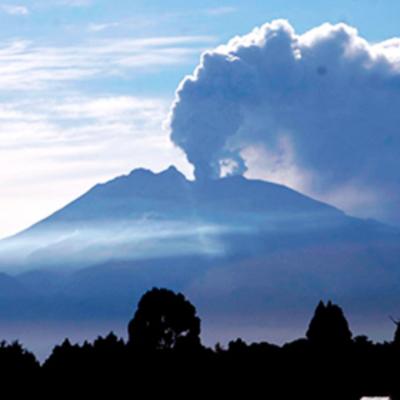 Erupciones del Volcán Calbuco timeline