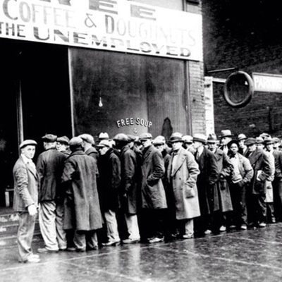 The Great Depression timeline
