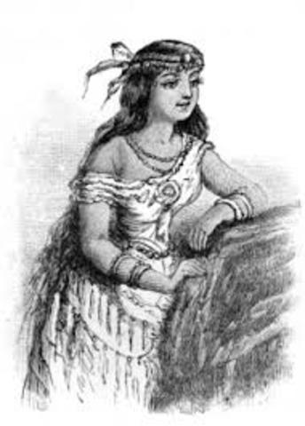 Birth of Pocahontas