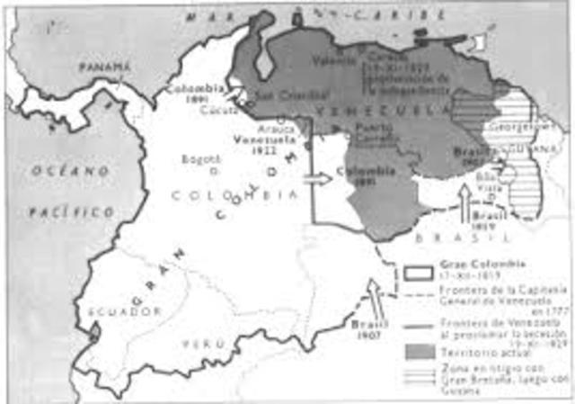 Tratado de limites entre Colombia - Venezuela