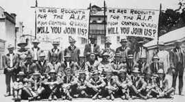 Australian Involvement in World War I and World War II timeline