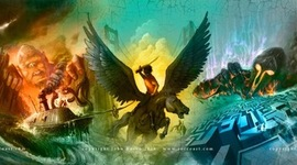 Percy Jackson & the Olympians/Heroes of Olympus timeline