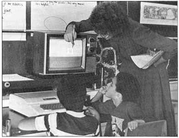 First microcomputers enter schools