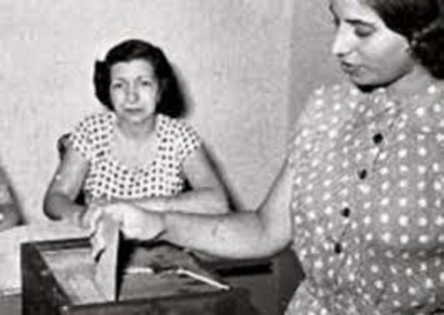 Ley de voto femenino