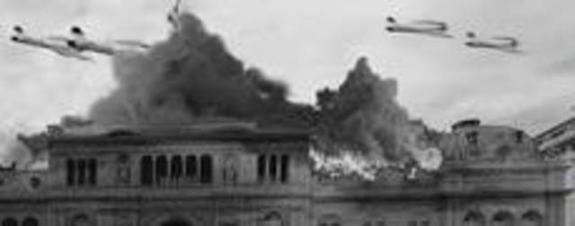 Bombardeo sobre la Plaza de Mayo