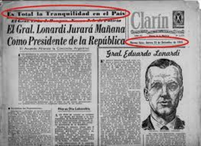 Golpe de Estado a Perón