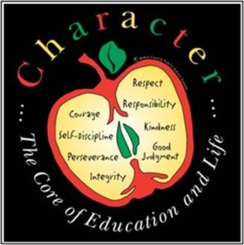 Character education becomes a strong push!!