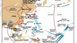 Pacific Theater by Leah Toth timeline