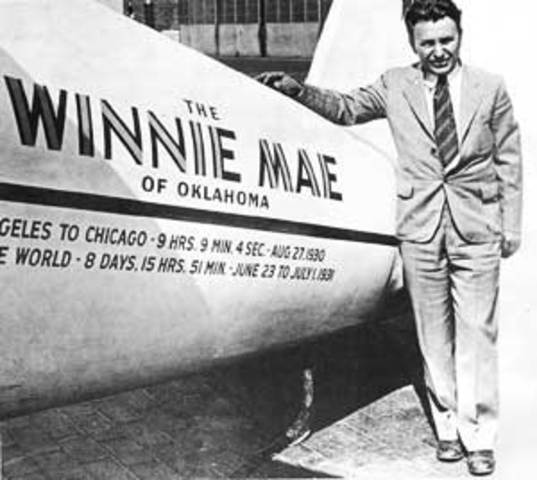 Wiley Post's Life Events Timeline