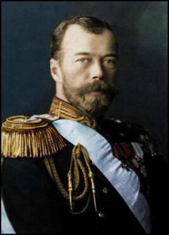 Tsar Nicholas takes command of Russian armies