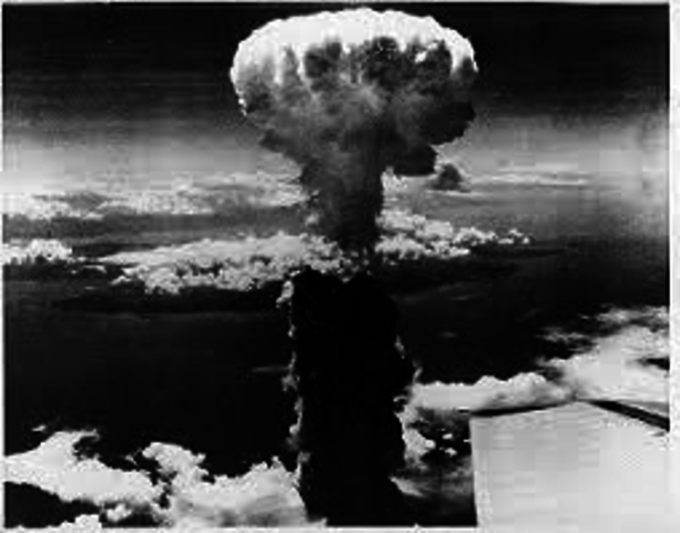 the justification of the united states dropping of the atomic bomb during the end of world war ii The us decision to drop atomic bombs on hiroshima and nagasaki in 1945 was  meant to kick-start the cold war rather than end the second world war,  according to two  secretary of state james byrnes, truman agreed at a meeting  three  of hindsight, the bombing may not have been militarily justified.