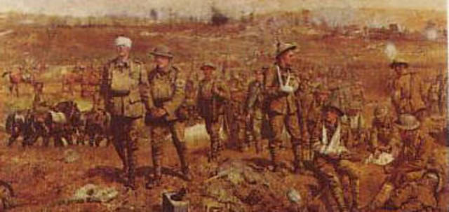 Start of the Battle of the Somme