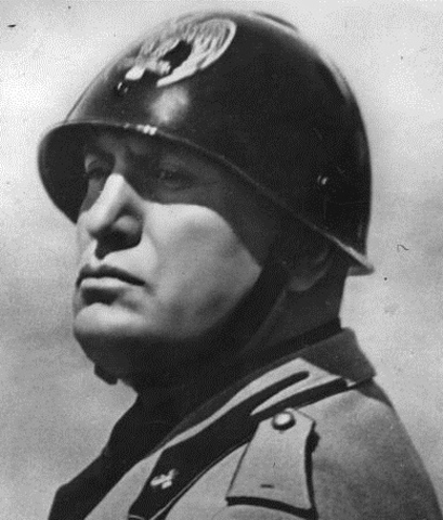 mussolini started to be leading minister involving italy