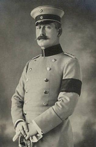 Prince Maximmilian of Baden