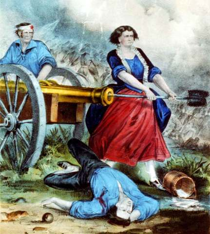 mary ludwig hays molly pitcher timeline timetoast timelines