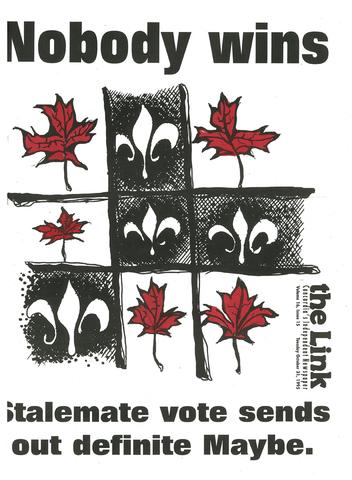 quebec referendum 1995 Regional and linguistic distribution results of the 1995 quebec referendum on  sovereignty october 30, 1995 referendum question.