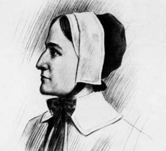 John Cotton Minister England Colonial: Anne Hutchinson Timeline
