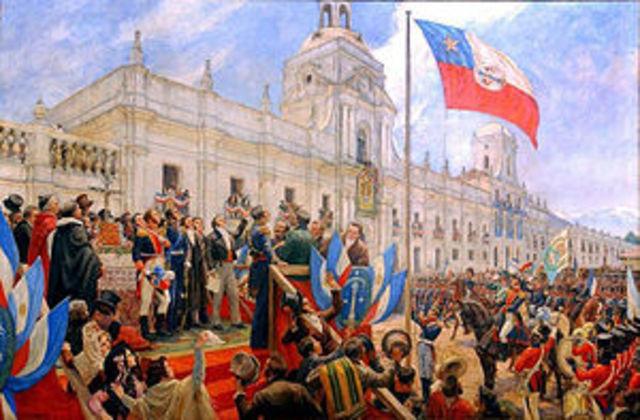 Independecia de Chile a cargo de San Martin