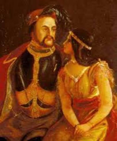 Pocahontas Meets John Smith