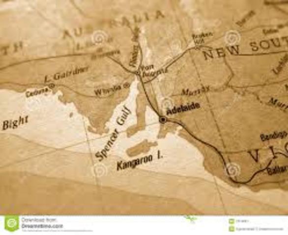 Colonisation Of Australia Timeline Timetoast Timelines