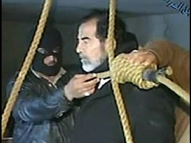 Saddam Hussein Hangs