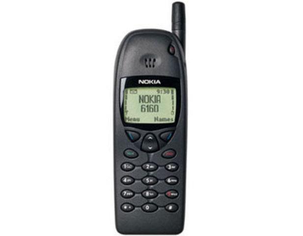 Quinto celular de la historia Nokia 6160