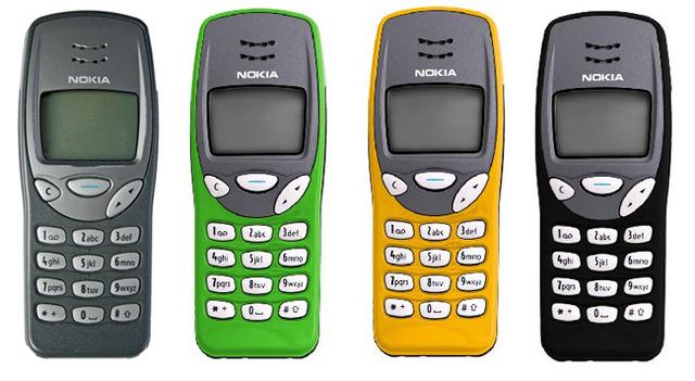 Sexto celular de la historia Nokia 3210