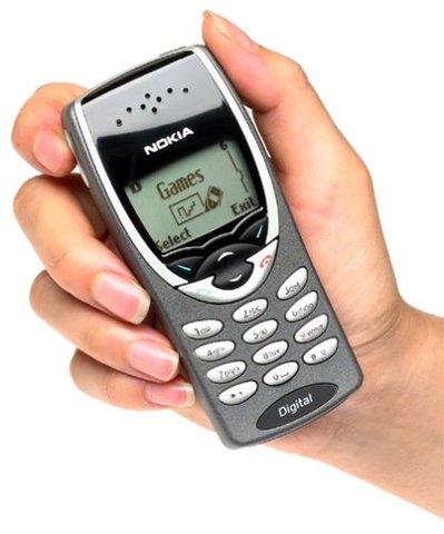 Septimo celular de la historia Nokia 8260