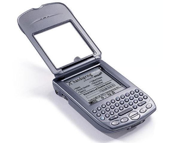 Octavo celular de la historia Handspring Treo 180