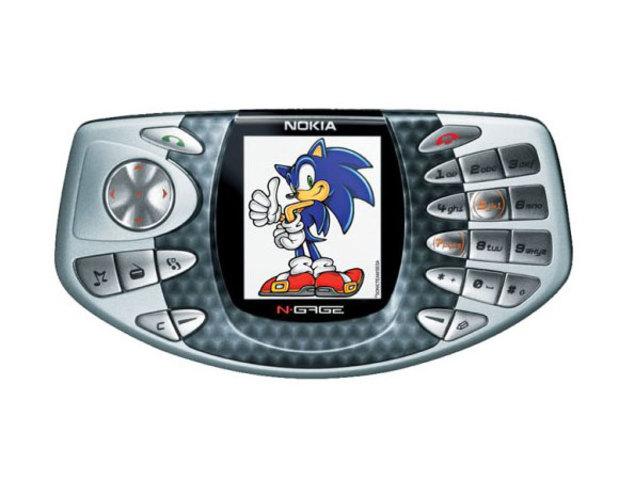 Decimo celular de la historia Nokia N-Gage