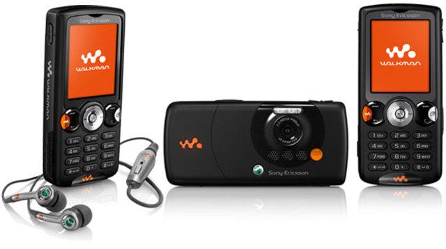 Doceavo celular de la historia Sony Ericsson W810i