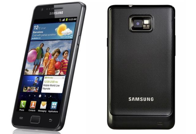 Diesicieteavo celular de la historia Samsung Galaxy SII