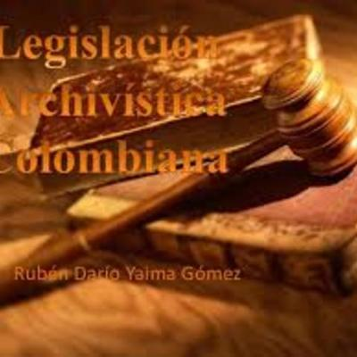 Legislación Documental timeline