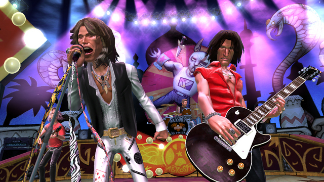 Guitar hero Aerosmith is released