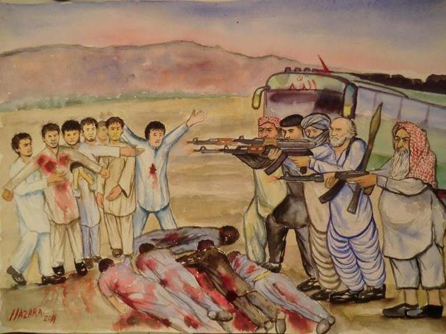 The Hazara massacre.