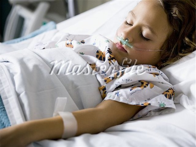 Anna Admitted into Hospital at age 10