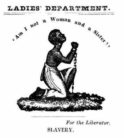 Female Anti-Slavery Society Meets