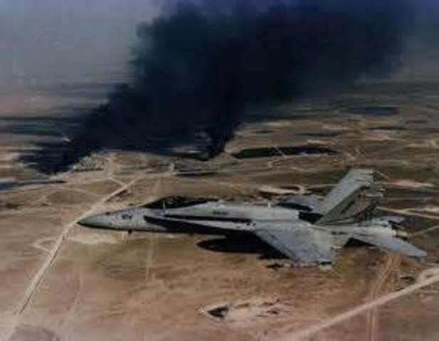 The inception of the persian gulf war on august 2nd 1990