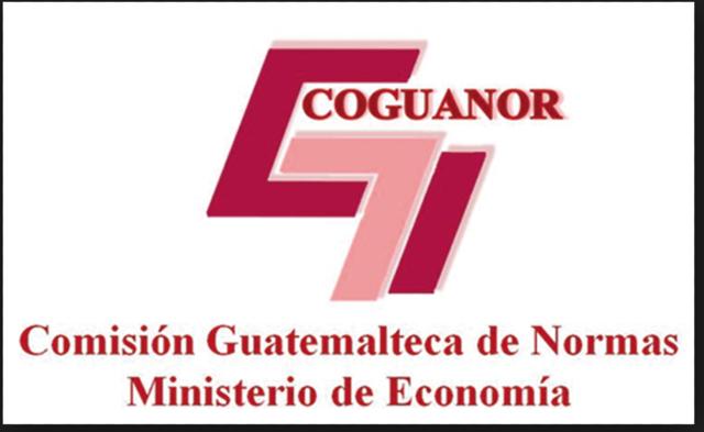 Image result for Comisión Guatemalteca de Normas guatemala coguanor